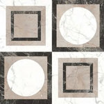 BORGHINI WHITE DECOR PULIDO (-8431940351655-) 59,55x59,55 Керамогранит